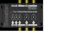 1 To 1 Composite Video•S-Video•Audio Booster