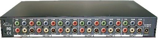 1x4 Component•Audio Distribution Amplifier