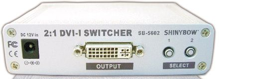 2x1 DVI Routing Switcher