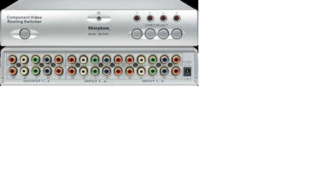 4x2 Component•Audio Routing Switcher