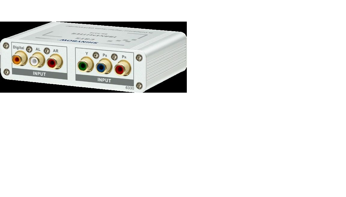 Component Video•Digital•Audio CAT5 Extender